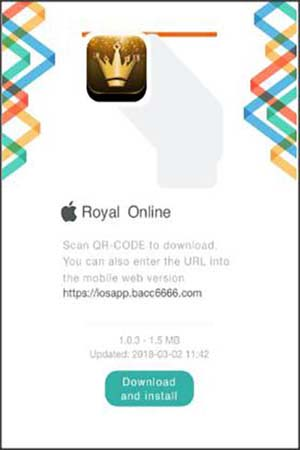โหลด royal online v2 ios